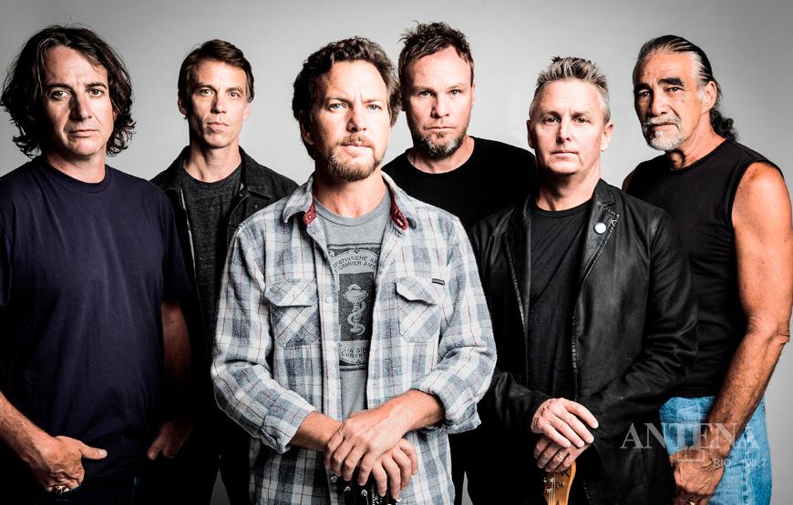 Pearl Jam lança primeira música de novo disco