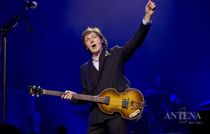 Paul McCartney espalhou partituras de suas novas músicas pelo mundo, incluindo Rio de Janeiro