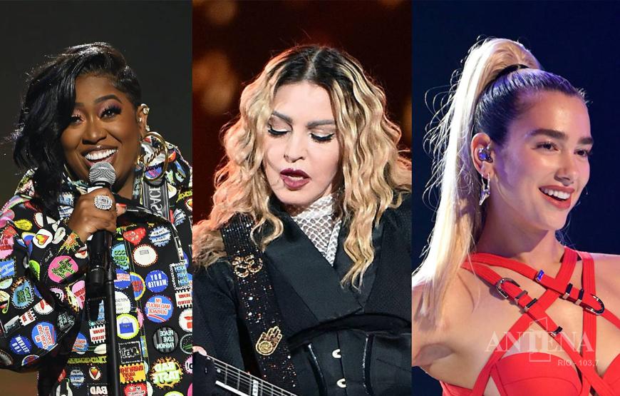 Parceria de Dua Lipa com Madonna e Missy Elliott