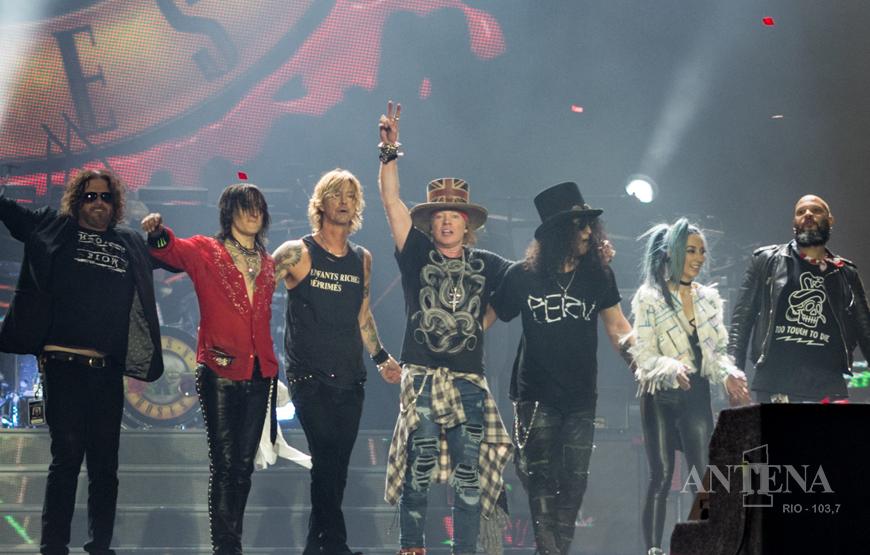Guns N' Roses confirma turnê nos EUA