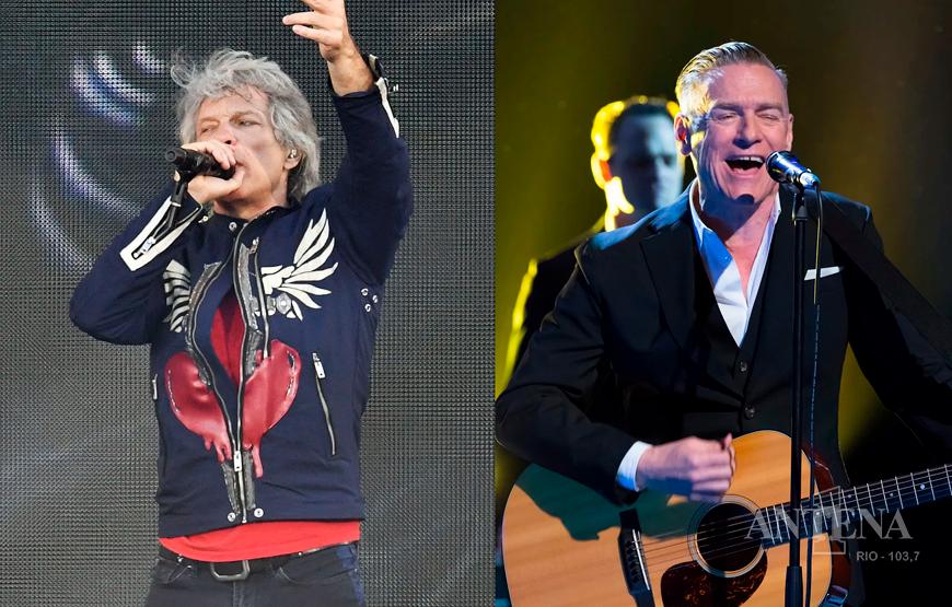 Bon Jovi anuncia nova turnê com participação de Bryan Adams