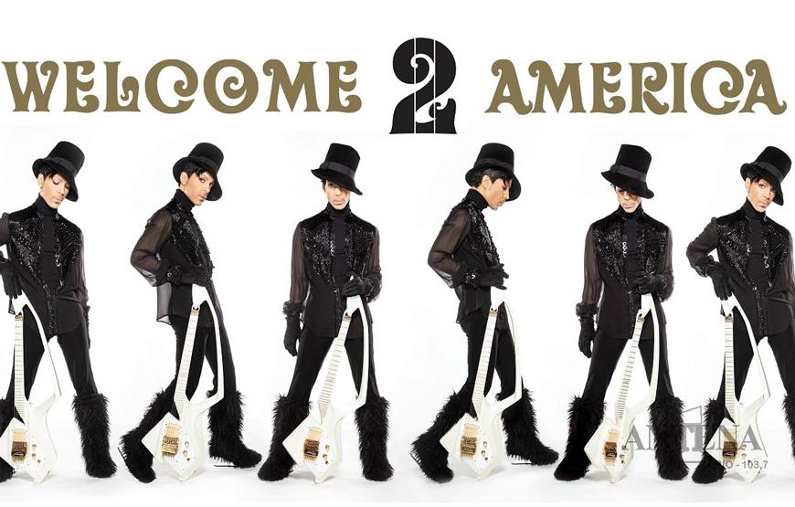 "Ouça ""Welcome 2 America"", álbum póstumo de Prince."