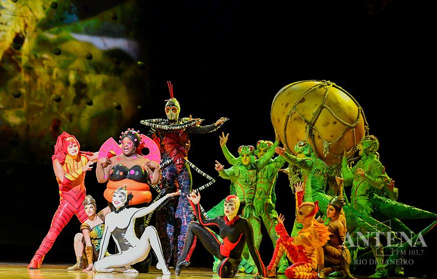Espetáculo do Cirque Du Soleil em solo brasileiro, pela primeira vez