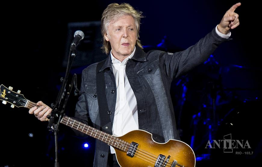 Paul McCartney e Beck em nova versão de disco