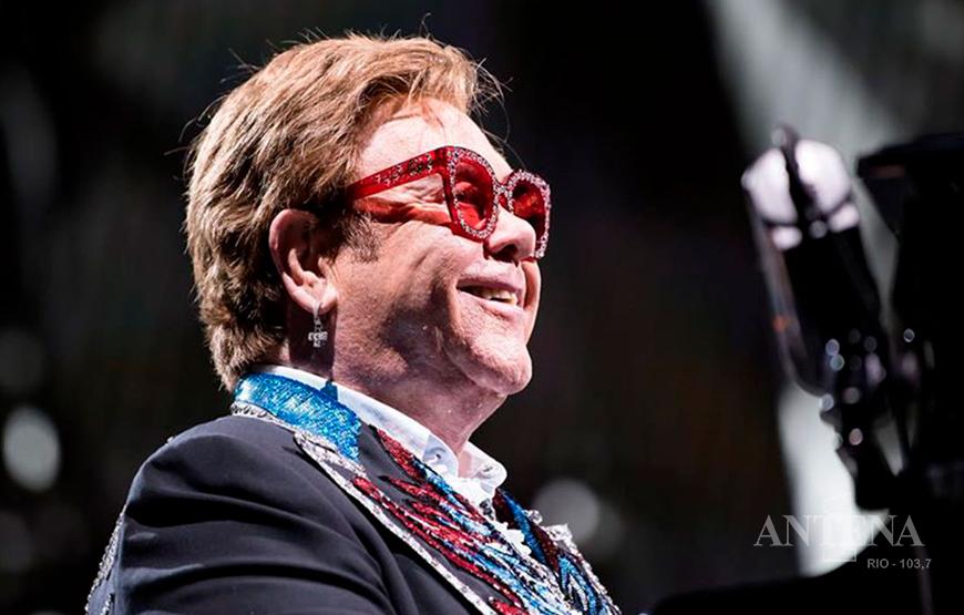 Elton John e Metallica trabalham juntos durante a quarentena