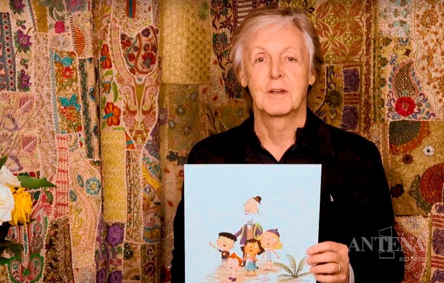 Paul McCartney lança livro de histórias infantis