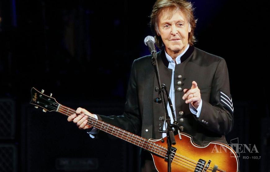 Paul McCartney vem com tudo