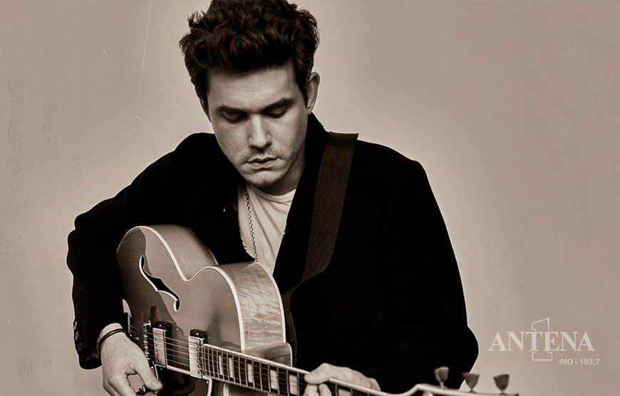 JOHN MAYER LANÇA CARRY ME AWAY